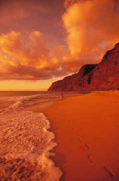 ✯ Polihale Beach at Sunset - Kauai, Hawaii