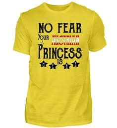 No fear princess USA Amerika Basic Shirts, Tops, Women, Usa, Fashion, Belgium, France, Finland, Princess
