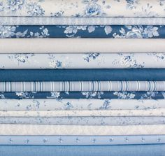 Today we are loving the Chambray Rose collection by Rachel Ashwell. #ShabbyChic indeed! #fabric #chic