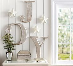 Joy Letters | Pottery Barn