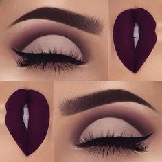 Best Matte Makeup Eyeshadow - Make UP Ideen Matte Makeup, Makeup 101, Makeup Goals, Skin Makeup, Makeup Inspo, Eyeshadow Makeup, Makeup Brushes, Makeup Ideas, Eyeshadow Palette