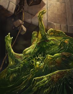 Image result for ooze slime in water d&d                                                                                                                                                                                 Plus