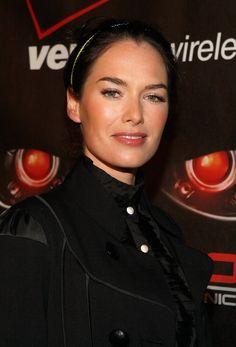 "lena headey terminator   Lena Headey Photos Photos - Premiere Of Fox's ""Terminator ..."