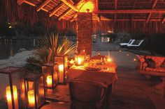 Romantic Private Dinner - Ponta dos Ganchos Resort / Brazil