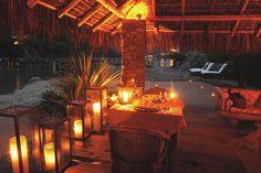 Romantic Private Dinner - Ponta dos Ganchos Resort / Brazil