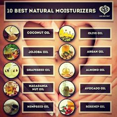 Natural hair moisturizers