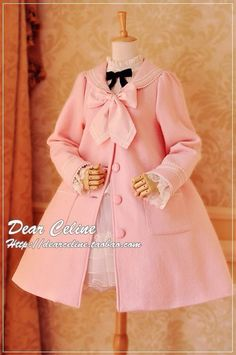 Sailor coat by Dear Céline in blue or pink