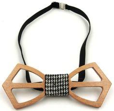 New design handmade wood bow ties.
