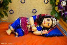 Sweet Dreams from Little Radharani Follow @global.indian #radharani #krishna #barsana #barasana #shreeji #ladli #ladali #ashtasakhi #gaurangi #merciful #blissful #harekrishna #vaishnav #radha #radheradhe #instagram #beauty #love #cute #blessingss #dharma #wisdom  #pray #lotus #radhastami #happybirthday #appearanceday #radhakrishna #globalindian #littleradha Radha Krishna Images, Krishna Art, Radhe Krishna, Krishna Avatar, Vedic Mantras, Lord Krishna Wallpapers, Radha Rani, Durga Puja, Hindus