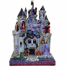 Amazon.com: Jim Shore Disney Traditions Tower of Fright: Home & Kitchen....currently drooling!!!!!! Love me some villains!