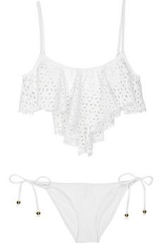 SHAY TODD EYELET BIKINI: loveeeee this, tried to get it for the past TWO friggen years and its been sold out! sooo annoying! lol