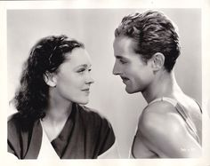 Maureen O' Sullivan and Phillips Holmes