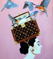 """Box Of Blue Birds"" Sarah Ashley Longshore"