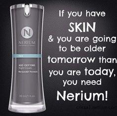 Nerium AD Night Cream lindagranstrom.nerium.com