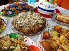 Μίνι μπουφές. Pork, Food And Drink, Menu, Bread, Chicken, Breakfast, Recipes, Pizza, Easter