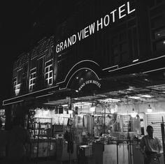 Grand view hotel | Hong Kong | 2017 Hong Kong, Monochrome, Times Square, Gun, Broadway Shows, Inspire, Travel, Viajes, Monochrome Painting