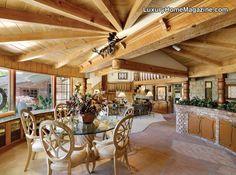 LHM Silicon Valley - Pasatiempo Country Club Estate in Santa Cruz #LuxuryHomes #Woodwork #InteriorDesign