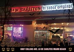 Te esperamos este Fin de Semana de Halloween !!! 6987 Collins Ave. Miami Beach