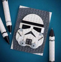 Retratos de la cultura Pop hechos de Lego ~ La Caja de Inventia | Blog de Comunicación Creativa y Tendencias