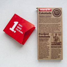 Vecernji List Chocolate on Packaging of the World - Creative Package Design Gallery