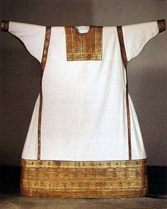 Credited to Alb of St. Bernulf who died in 1056, but the garment is dated to 12th century.  emb