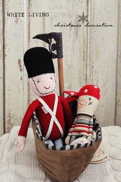 http://white-living.blogspot.de/ Maileg Soldier and Pirate www.countryhome24.eu