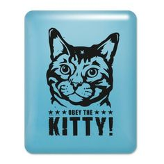 Obey the Kitty iPad Case