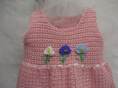 Toddler Pink First Birthday Party Tiny Flowers Wedding Portrait Dress
