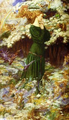 The Lover's World by Eleanor Fortescue Brickdale