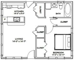 PDF house plans, garage plans, shed plans. The Plan, How To Plan, Granny Pod, Granny Flat, Small House Floor Plans, Shed Homes, Tiny Spaces, Public Spaces, Garage Plans