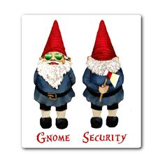 Gnome Security Stickers