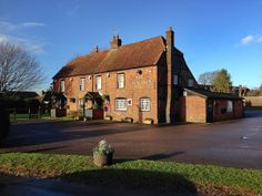 January 15th 2014.The rising sun lights up The Rising Sun at Swanmore, Hampshire as it has since the century. Reception venue #theweddingofmydreams  @The Wedding of my Dreams