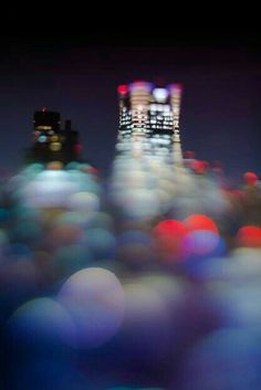 Takashi Kitajima Fellowship Of The Ring, Dark Places, Long Exposure, Night Photography, Bokeh, Night Light, Urban, Lights, Amazing