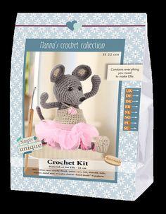 Kit Uncinetto Ella Topo Ballerina Hanna's Crochet