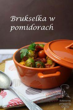 Kulinarne przygody Gatity: Brukselka w pomidorach
