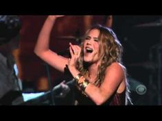 Melissa Etheridge performs with Joss Stone. Bald from cancer treatments but beautiful, strong and belts out this song like never before. Joss Stone may be one of the few female artists who can keep up with her. I get goosebumps ever time I watch this video. If you don't want to listen to all of it, just skip to 4:14 and listen to The Scream. Beautiful, because she's so weak from cancer treatment but does it anyway!! : )