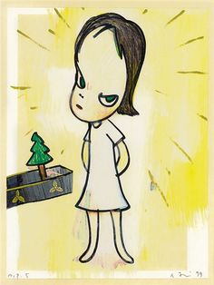 View Little Tannenbaum (1999) By Yoshitomo Nara; Lithograph; 34.8x25.8 cm; Signed; Edition. Access more artwork lots and estimated & realized auction prices on MutualArt.