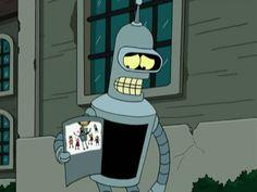 Bender ~ Futurama Best Cartoons Ever, Cool Cartoons, Futurama, Kubo And The Two Strings, Film Games, Avatar Cartoon, Disney Treasures, Fnaf Wallpapers, Portrait Cartoon