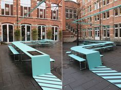 MOOV + benedetta maxia: kitchain – outdoor eating area system Source by Diy Furniture Renovation, Diy Furniture Cheap, Diy Furniture Hacks, Urban Furniture, Street Furniture, Furniture Legs, Garden Furniture, Furniture Design, Concrete Furniture