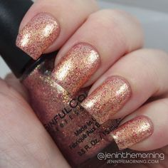Sinful Colors Holiday 2014 Swatches and Review: Gilded $2