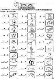 Resultado de imagem para atividades para nivel silabico com valor sonoro