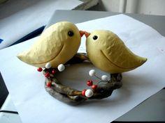 cake topper .polymer clay bwork