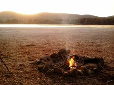Campfire at Kisoroszi