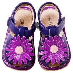 Little Blue Lamb - Squeaky Leather Toddler Girls Shoes | Purple marguerite - Size: 20 Little Blue Lamb http://www.amazon.co.uk/dp/B00DAE9BDU/ref=cm_sw_r_pi_dp_HsGLtb00574658EE