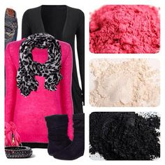 Fall In Love with Pink Designer Fashions meet Younique Mineral Makeup Eye Pigments www.youniqueproducts.com/AndieNeumann