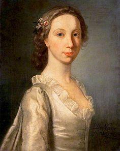 The Athenaeum - Portrait of a Young Lady (William Denune - ) Scottish c 1745