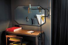 Tout le mobilier de l'hôtel a été dessiné sur mesure par le par le duo de créatrices Pauline d'Hoop et Delphine Sauvaget de l'Agence Favorite