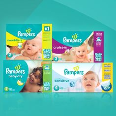 Save $5 on ANY one Pampers value box of diapers (Reg. 42.99 ea.) when you share this offer.
