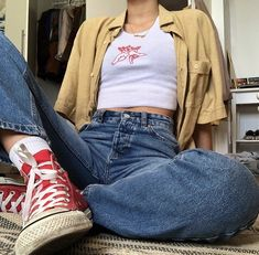 one or more people and shoesYou can find Stylish clothes and more on our website.one or more people and shoes Aesthetic Fashion, Aesthetic Clothes, Look Fashion, 90s Fashion, Fashion Outfits, Retro Style Fashion, Fashion Clothes, Chubby Fashion, Student Fashion