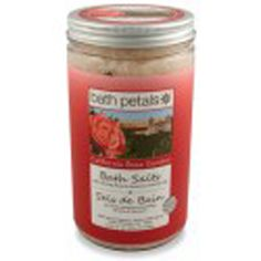 #Bath #Petals - #California #Rose #Garden Bath #Salt.  A fragrant, calming mineral-rich bathing therapy to restore mind, body and spirit. These mineral-rich and detoxifying Pacific Sea salts are combined with pure #essential #oils and petals or leaves, a lovely and fragrant way to relax and unwind.   40 OZ/1133 g  $23.99